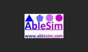 AbleSim logo