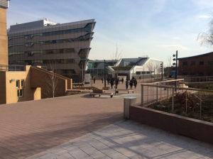 New pedestrian walkways between Gosford Street and Gulson Road