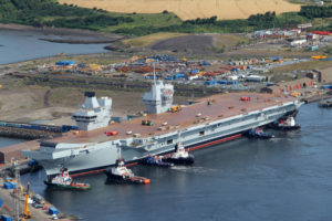 HMS Queen Elizabeth July 2014