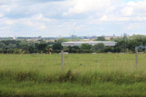 Green fields south of the A45 set for a new engineering centre.