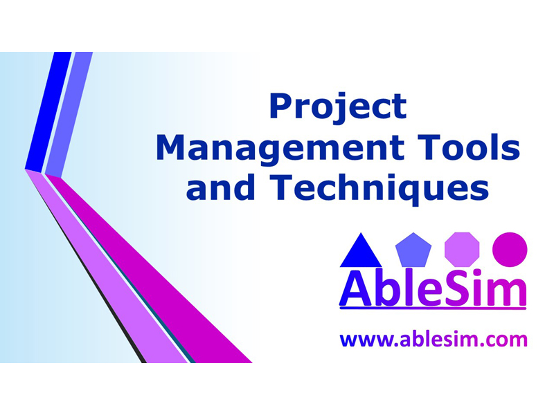 Project Management Tools & Techniques