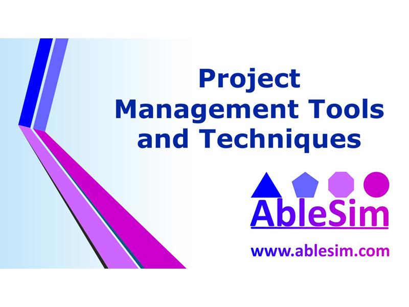 Project Management Tools & Techniques