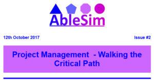 AbleSim Info-Letter Header Image
