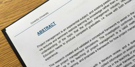 Dissertation Thesis Abstract