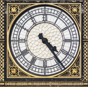 Big Ben Clock Face