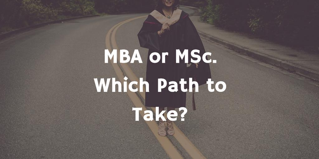MBA or MSC