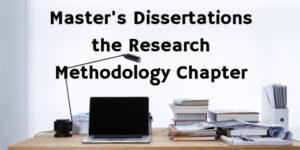 Reseach Methodology Chapter