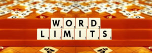 Word Limits
