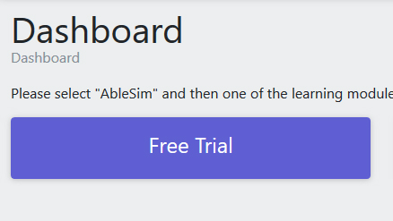 Free Trial Dashboard