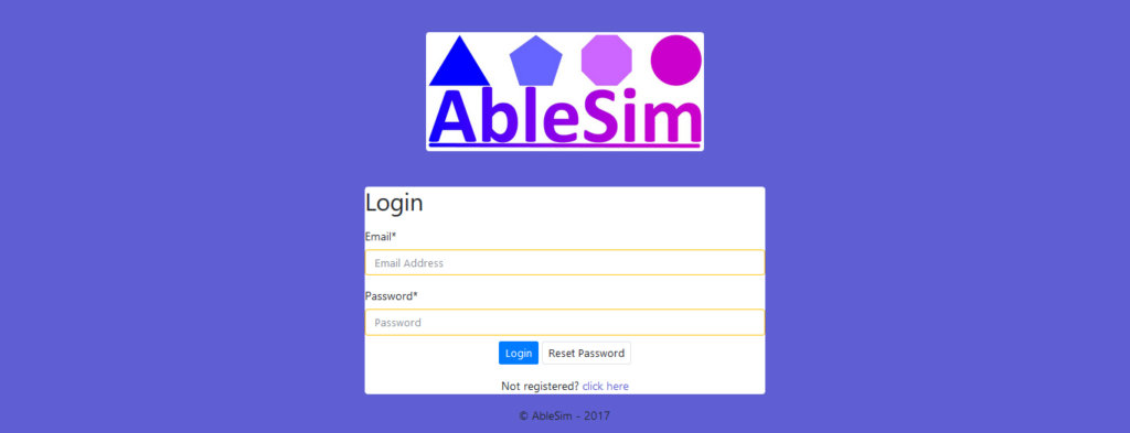 Free Trial Simulation Login