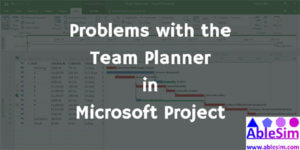 The Team Planner in Microsoft Project