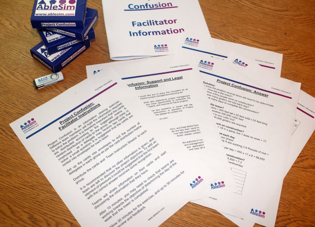 Project Confusion Facilitator Information