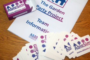 The Garden Party Project Card Backs