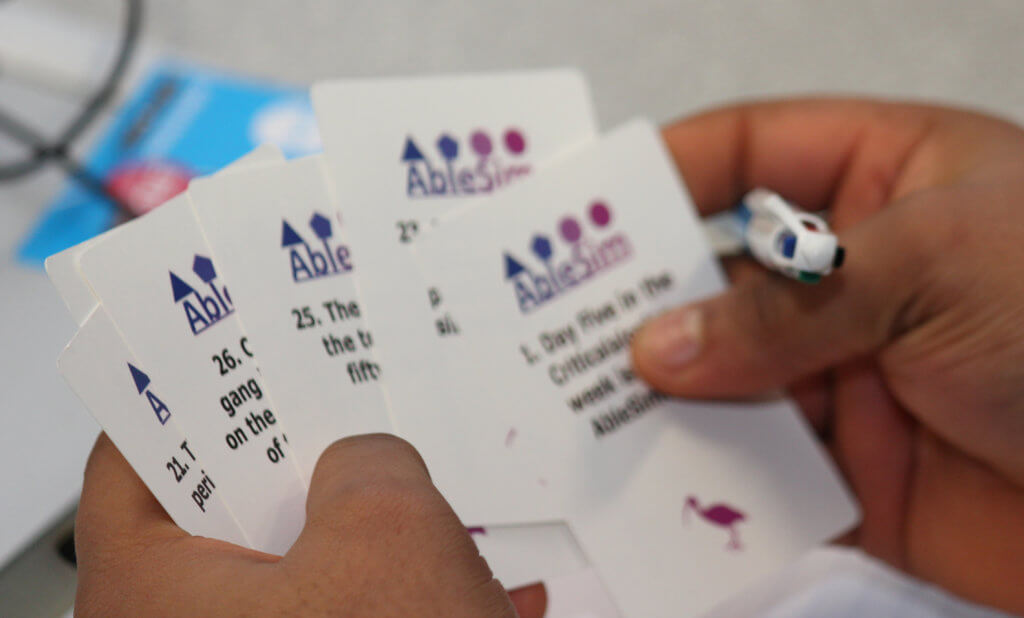 Project Confusion Cards In Use