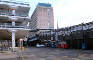 Barracks Car Park and Hertford Street Service Area