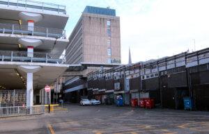 Barracks Car Park and Hertford Street Service Area