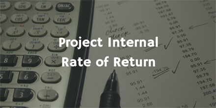 Project Internal Rate of Return