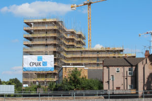 Construction at Parkside from Coventry Ring Road Junction 5