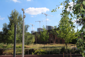 London Road Construction over Whitefriars