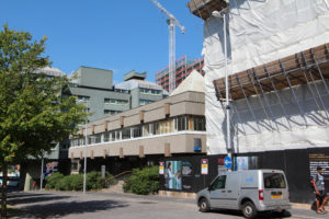 Priory Halls Demolition and Fairfax Street Construction