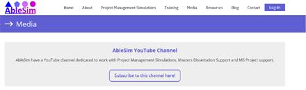 AbleSim YouTube