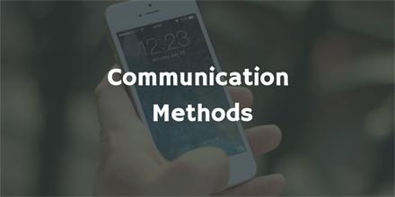 Communication Methods