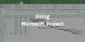 Using Microsoft Project