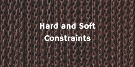Hard and Soft Constraints