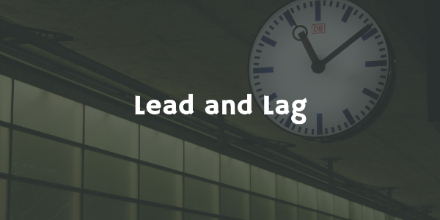 Lead and Lag
